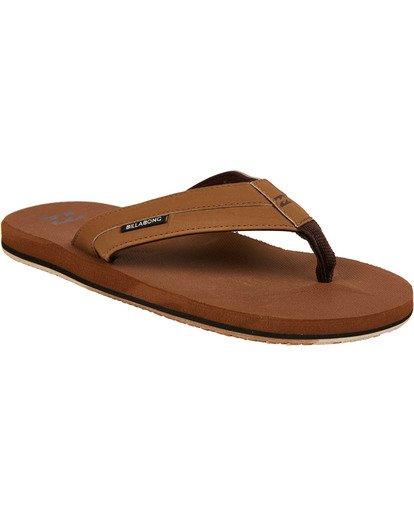 1 All Day Impact Sandals Yellow MAFTAADI Billabong