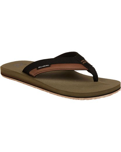 1 All Day Impact Sandals Green MAFTAADI Billabong