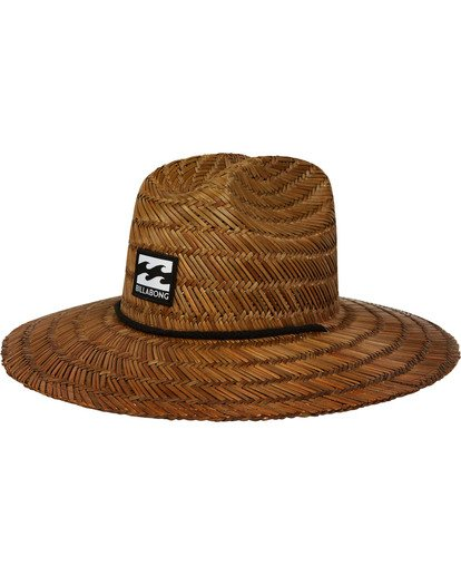 0 Tides Straw Hat Brown MAHTATID Billabong