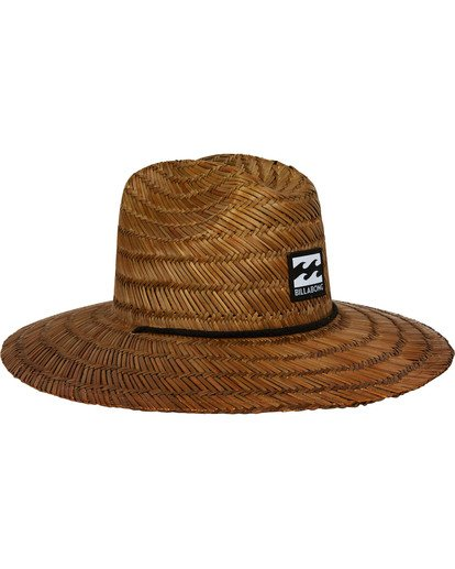2 Tides Straw Hat Brown MAHTATID Billabong