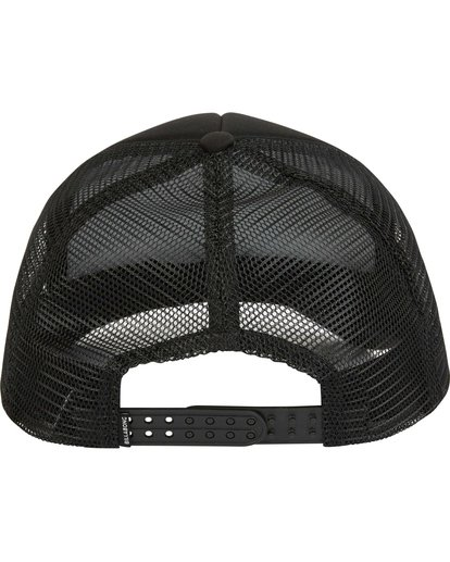 3 Podium Trucker Hat Black MAHTGPOD Billabong