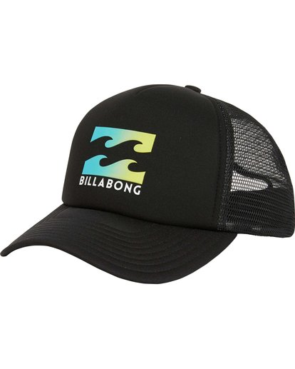 0 Podium Trucker Hat Black MAHTGPOD Billabong