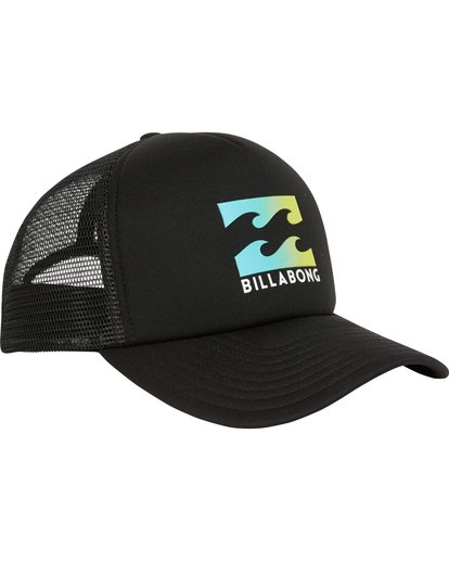 2 Podium Trucker Hat Black MAHTGPOD Billabong
