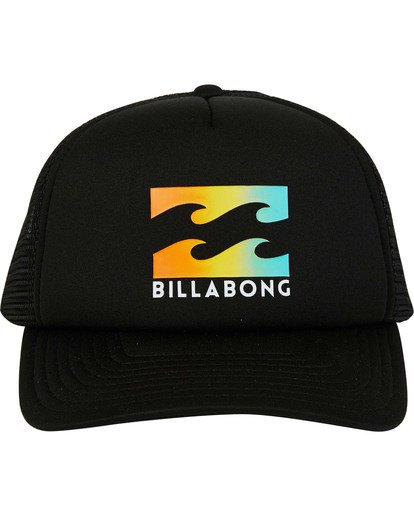 1 Podium Trucker Hat Black MAHTGPOD Billabong
