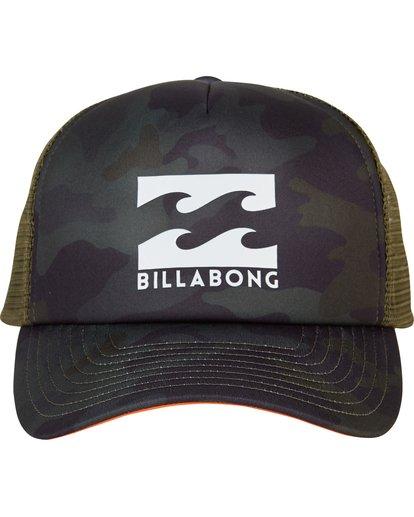 1 Podium Trucker Hat Green MAHTGPOD Billabong