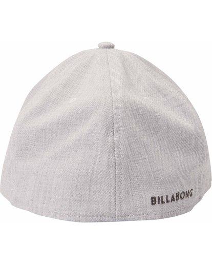 3 All Day Heather Stretch Fit Hat Grey MAHTLADH Billabong
