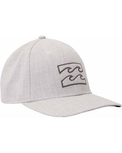 2 All Day Heather Stretch Fit Hat Grey MAHTLADH Billabong