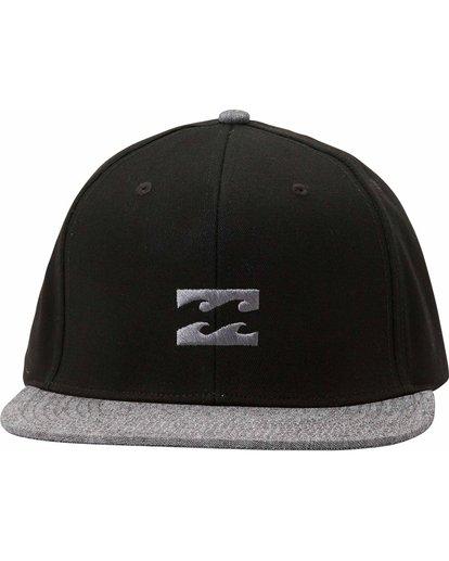 1 All Day Snapback Hat Black MAHTLADS Billabong