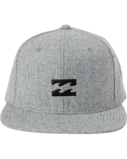 1 All Day Heather Snapback Hat  MAHTLAHS Billabong