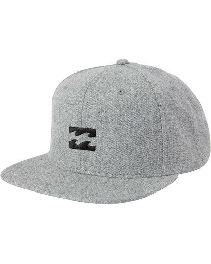 0 All Day Heather Snapback Hat  MAHTLAHS Billabong