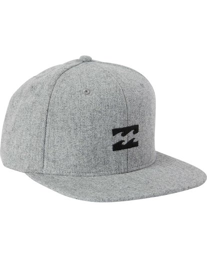 2 All Day Heather Snapback Hat  MAHTLAHS Billabong