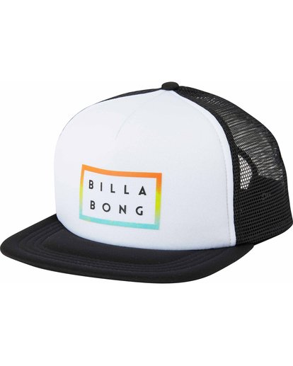 0 Die Cut Trucker Hat White MAHTLDCT Billabong