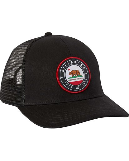 2 Native Rotor Trucker Hat  MAHTLNAR Billabong