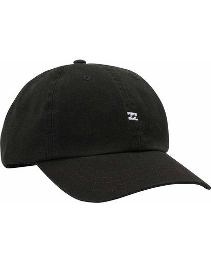 2 All Day Lad Cap Black MAHTMADL Billabong