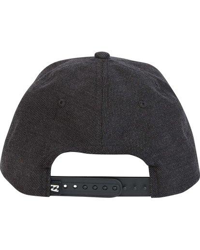 3 Primary Snapback Hat Black MAHTMPRI Billabong