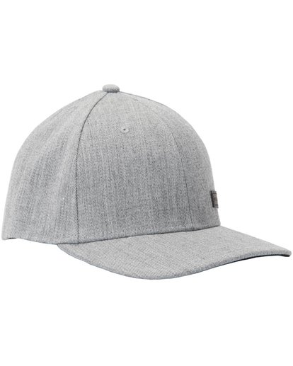 2 United Stretch Hat Grey MAHTMUNT Billabong
