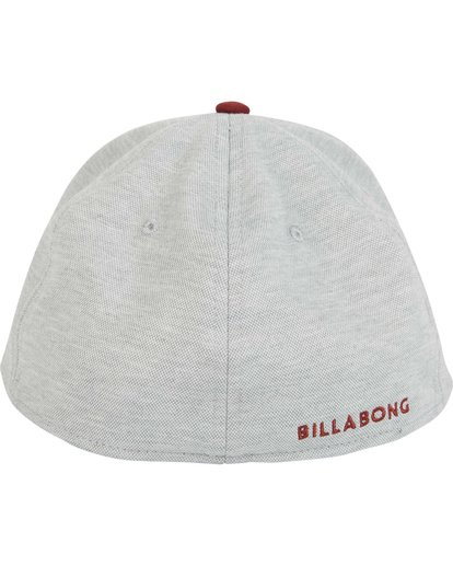 3 All Day Heather Stretch Fit Hat Grey MAHWNBAH Billabong