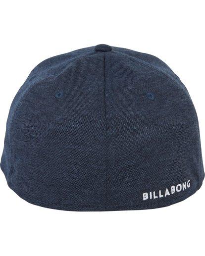 3 All Day Heather Stretch Fit Hat Blue MAHWNBAH Billabong