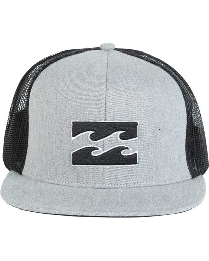 1 All Day Trucker Hat Grey MAHWNBAR Billabong