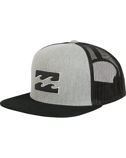 0 All Day Trucker Hat Grey MAHWNBAR Billabong
