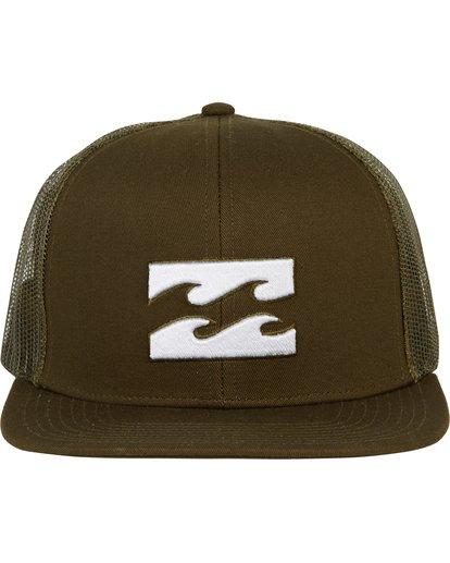 1 All Day Trucker Hat Green MAHWNBAR Billabong