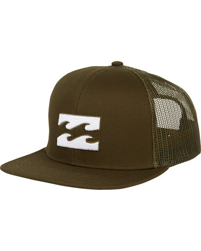 0 All Day Trucker Hat Green MAHWNBAR Billabong