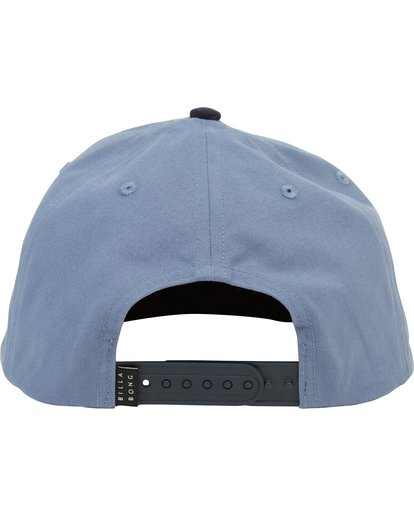 3 Stacked Snapback Hat Blue MAHWNBAS Billabong