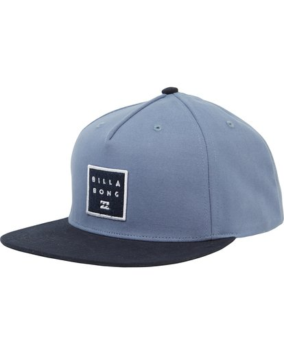 0 Stacked Snapback Hat Blue MAHWNBAS Billabong