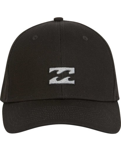 1 All Day Stretch Fit Hat Black MAHWNBAT Billabong
