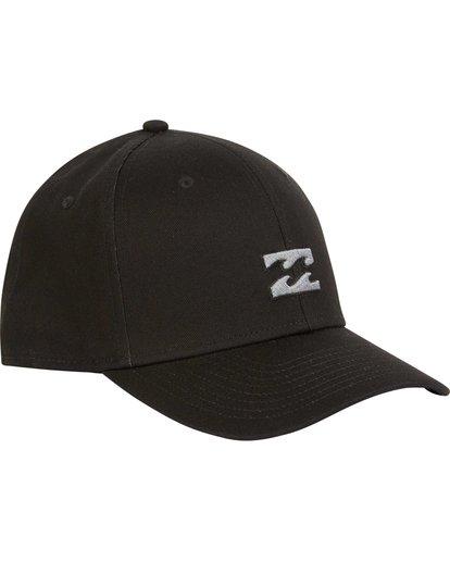2 All Day Stretch Fit Hat Black MAHWNBAT Billabong