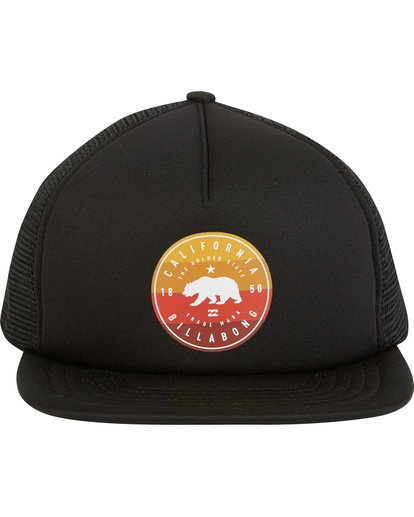 1 California Trucker Hat Black MAHWNBCA Billabong