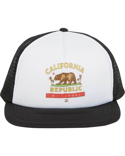 1 California Trucker Hat  MAHWNBCA Billabong