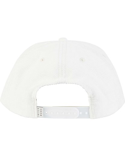 3 Billabong Gallery Sean Morris Snapback Hat White MAHWNBGA Billabong