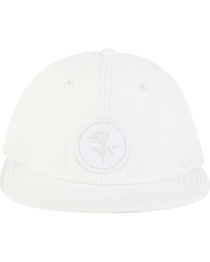 1 Billabong Gallery Sean Morris Snapback Hat White MAHWNBGA Billabong