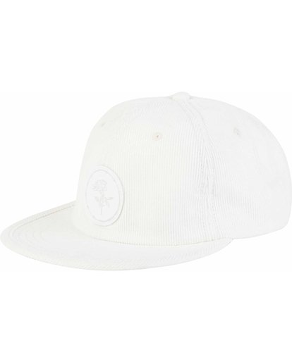 0 Billabong Gallery Sean Morris Snapback Hat White MAHWNBGA Billabong