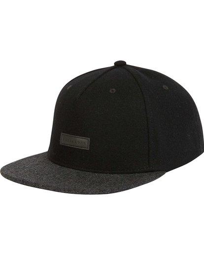 0 Oxford Snapback Hat Black MAHWNBOX Billabong