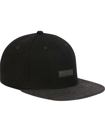 2 Oxford Snapback Hat Black MAHWNBOX Billabong