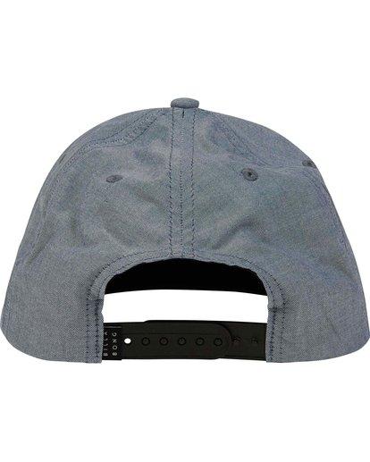 3 Oxford Snapback Hat Blue MAHWNBOX Billabong