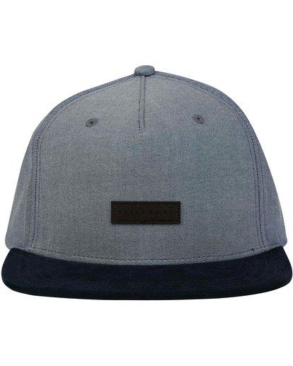 1 Oxford Snapback Hat Blue MAHWNBOX Billabong