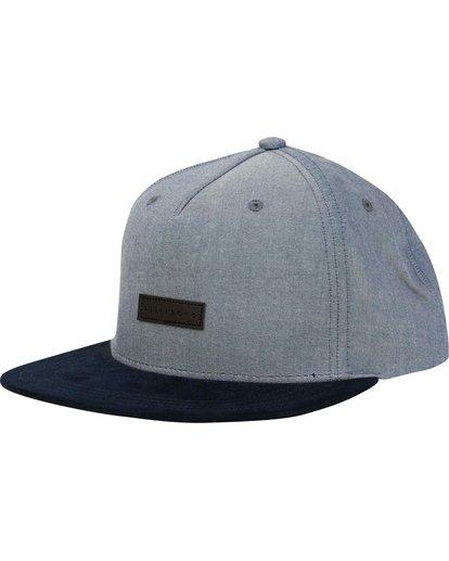 0 Oxford Snapback Hat Blue MAHWNBOX Billabong