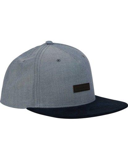 2 Oxford Snapback Hat Blue MAHWNBOX Billabong