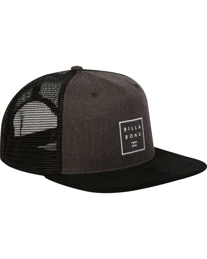 2 Stacked Trucker Hat Black MAHWNBST Billabong