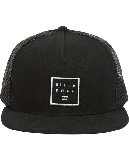 1 Stacked Trucker Hat Black MAHWNBST Billabong