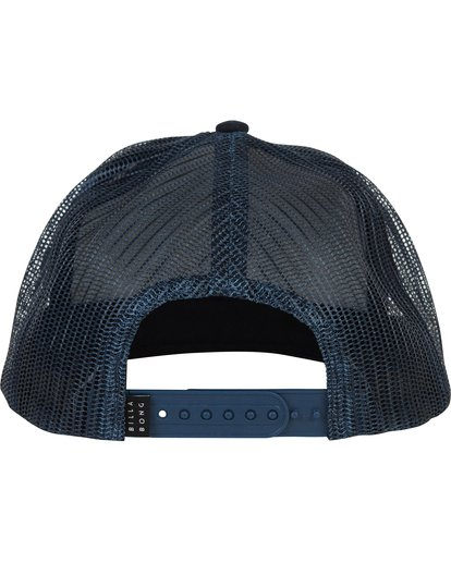3 Stacked Trucker Hat Blue MAHWNBST Billabong