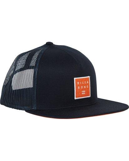 2 Stacked Trucker Hat Blue MAHWNBST Billabong