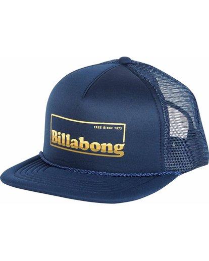 0 Upgrade Trucker Hat Blue MAHWNBUP Billabong