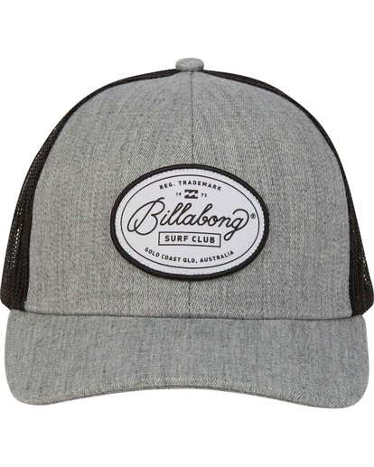 1 Walled Trucker Hat Grey MAHWNBWA Billabong