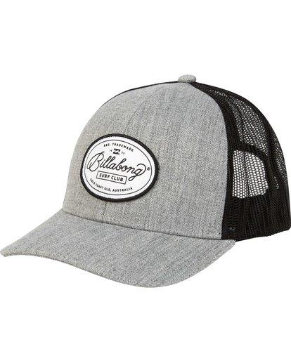 0 Walled Trucker Hat Grey MAHWNBWA Billabong