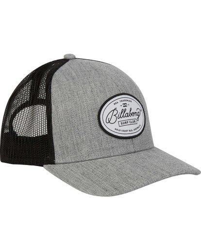 2 Walled Trucker Hat Grey MAHWNBWA Billabong