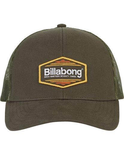 1 Walled Trucker Hat Green MAHWNBWA Billabong